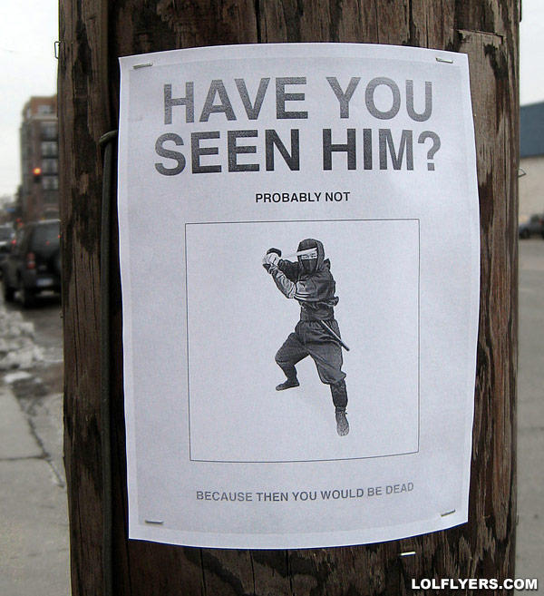 - Pla don't look for him he would cut your head off